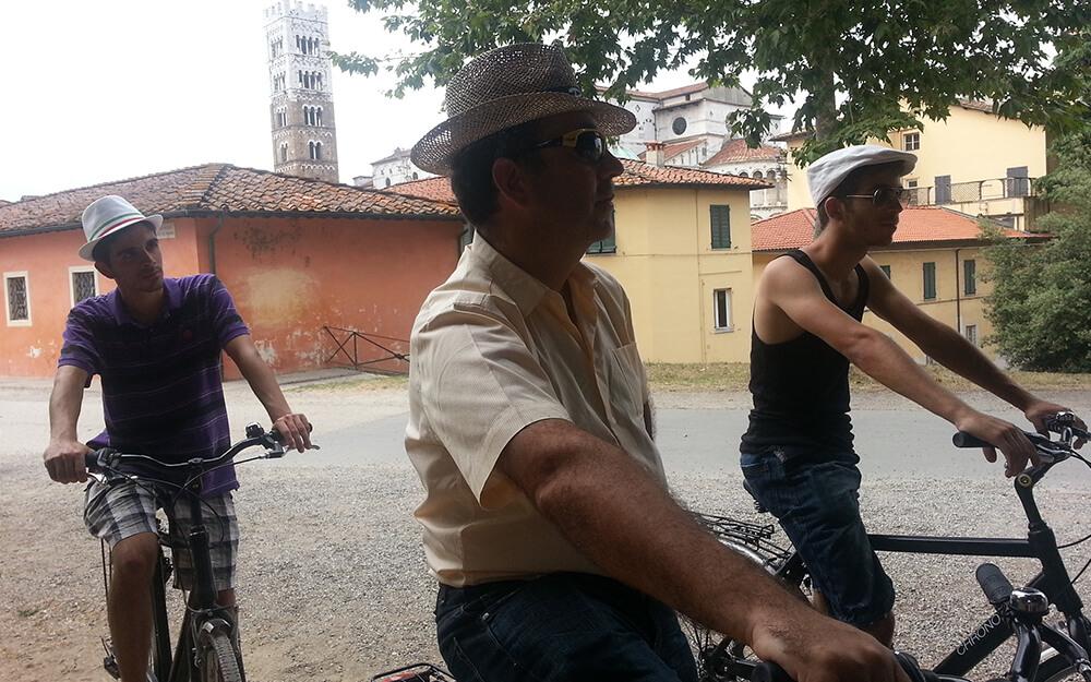 Tuscanyatheart_THE WALLS OF LUCCA - BIKE TOUR1
